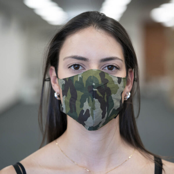 Face Mask - Camouflage - Green