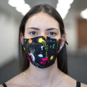 Face Mask - Paint Splatter