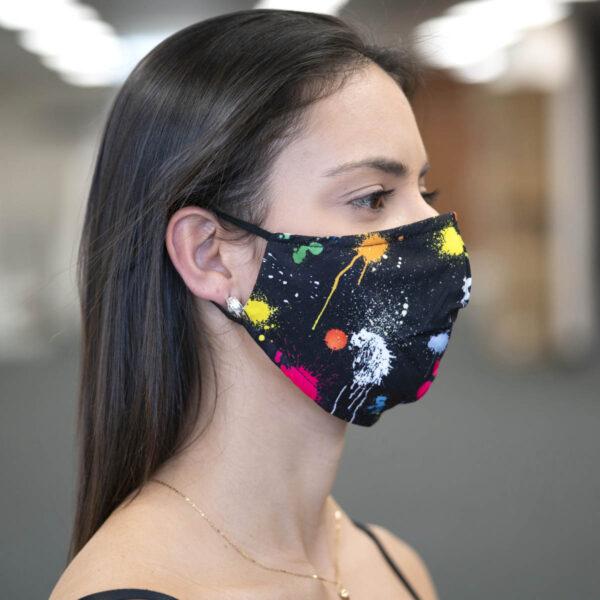 Face Mask - Paint Splatter