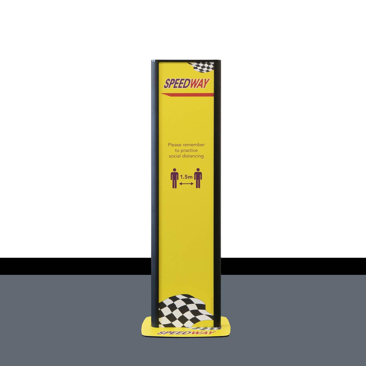 Sanitiser Dispenser Stand - Branded