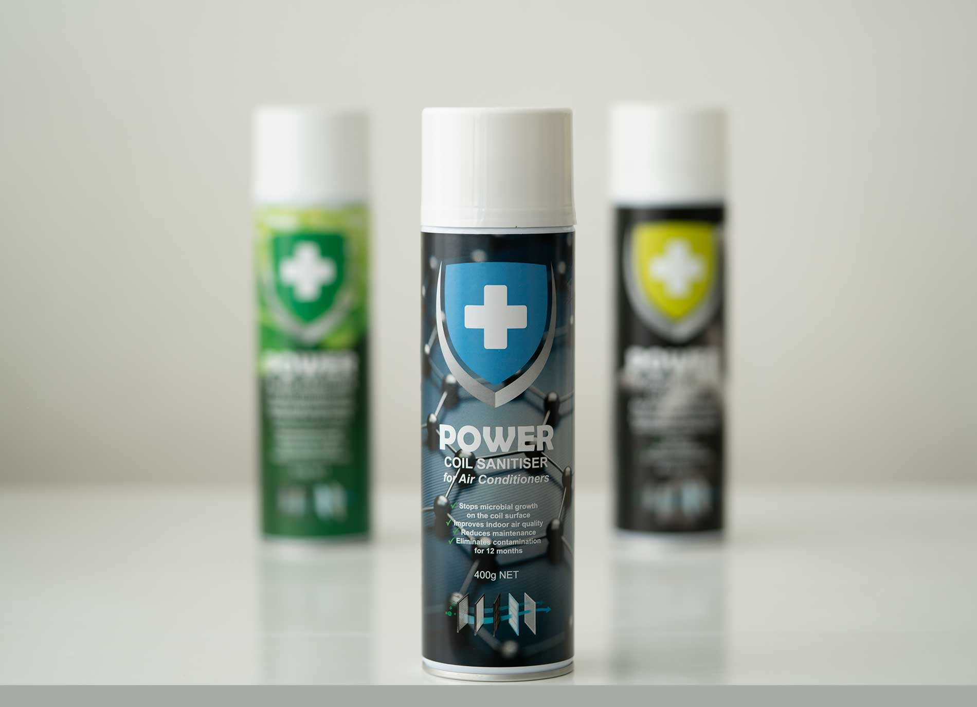 The Virus Shop - Power Coil Sanitiser for Air Conditioners