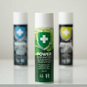 The Virus Shop - Power Filter Sanitiser for Air Conditioners