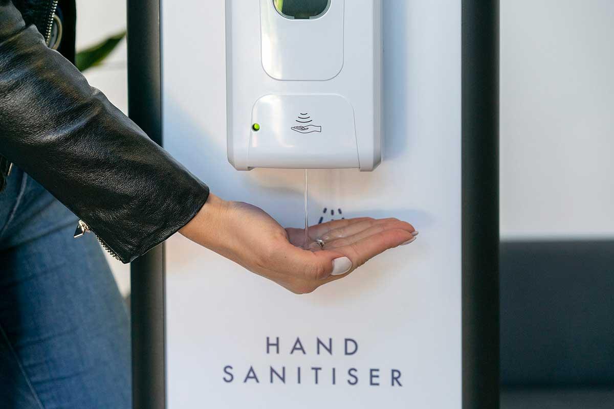 Th Virus Shop - Sanitiser Dispenser Stand