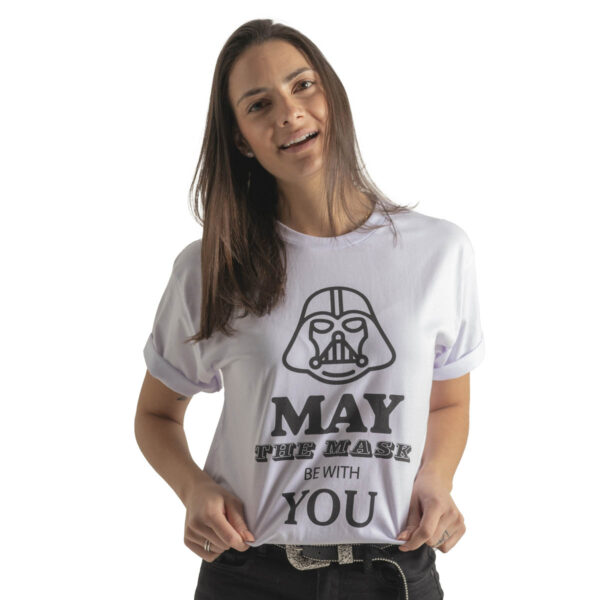 T-shirt - May The Mask Be With You